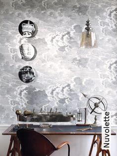 Entzuckend Tapete: Nuvolette   Die TapetenAgentur Moderne Wandgestaltung, Wandmalerei,  Wandbilder, Schreibtisch, Tapeten
