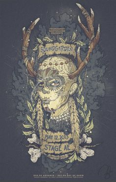 Soundgarden poster by ninazivkovic.deviantart.com on @deviantART