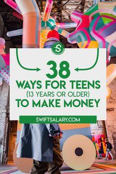 Ways To Get Money, Make Easy Money, Make Money Now, Earn Money From Home, Earn Money Online, Online Jobs For Teens, Making Money Teens, Legitimate Online Jobs, Typing Jobs