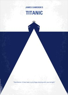 Another Titanic minimal movie poster $17