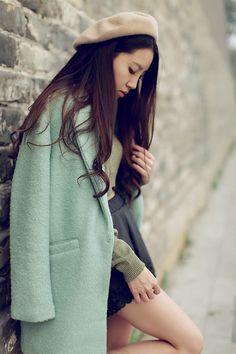 Wool Oversize Coat