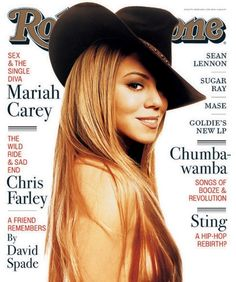 Mariah Carey. Rolling Stone Feb. 1998