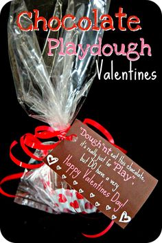 Here is one more cute Valentine idea we came up with.  I love this idea because its NOT a treat, and you can make large quantities for prett...