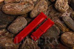 Louis Vuitton Red EPI Leather Watch Strap,https://www.imperastraps.com