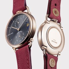 Discover Baume Watches : a unique experience to design your own custom watch. Communication Methods, French Signs, Tomorrow Will Be Better, Moon Phases, Make Time, Watches For Men, Top Mens Watches, Men Watches