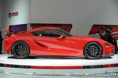 Toyota FT-1 Concept Wows at Detroit Auto Show
