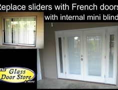 33 ideas replace sliding glass door ideas french patio for 2019 Interior Sliding French Doors, Sliding Closet Doors, Interior Barn Doors, Sliding Glass Door, Replacement Patio Doors, French Door Sizes, Double Doors Exterior, Slider Door, Interior Design Programs