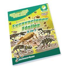 Science4you - Excavaciones fósiles 5 en 1 - juguete científico y educativo: Amazon.es: Juguetes y juegos
