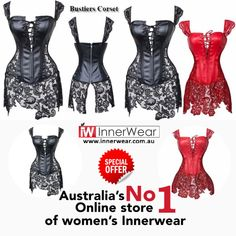 Leather Lace Plus Size Waist Trainer Corset Top Bustiers Costume Dress Sexy Lingerie For Women  #buynow :  #lingerie #sexy #bustierscorset #costume #leatherlace #innerwear.com.au #womenshoppingausralia