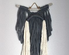 Macrame Wall Hanging Pipeline no.4 by HIMO ART One of a by HIMOART