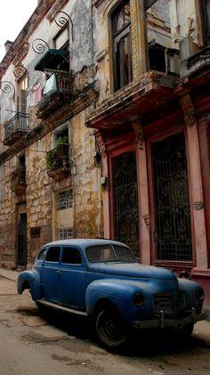 """""""Havana Street Scene"""" by Gawaine Draper - #junkydotcom"""