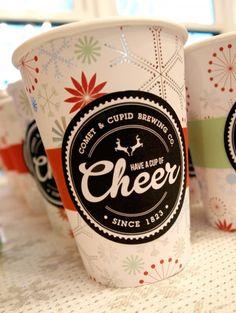 Holiday Party Hot Cocoa Bar (Printables)