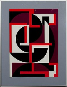 Lars-Gunnar Nordström: Kaari-ilmiö, serigrafia, 69,5x50 cm, edition AP - Bukowskis Market 2013