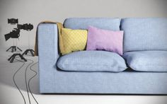 Fabric for furniture | 3ds Max Tutorial