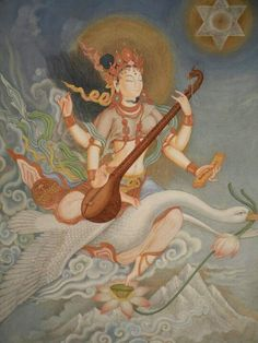 Goddess Saraswati Saraswati is the Hindu Goddess of learning and the arts. She…