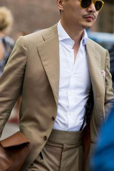 Pitti Uomo 90 street style solaro suit - gq britain