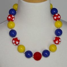 Snow White Inspired Chuncky Necklace only $6.99 at www.gabskia.com