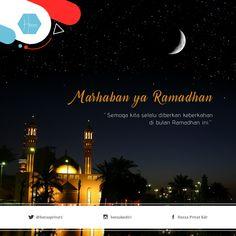 Marhaban ya ramadhan. Semoga kita selalu diberikan keberkahan di bulan ramadhan ini Selamat menunaikan ibadah puasa #hexxa #ramadhan #kediri #kotakediri #kabkediri #bimbelsmpkediri #bimbelsdkediri #bimbelsmakediri #kedirilagi Ramadhan Quotes, Ramadan, Islam, Religion, Love, Movie Posters, Pictures, Amor, Photos