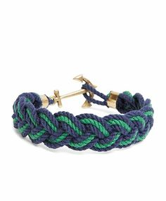 Brooks Brothers - Kiel James Patrick Braided Bracelet