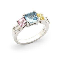 Pastel Princess Ring