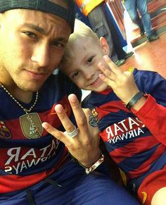 Neymar with Davi (23.05.16)