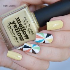 piCture pOlish 'lots of PP shades' carousel nails by Sveta Sanders WOWZA www.picturepolish.com.au