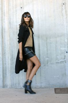 leather skirt coohuco 6