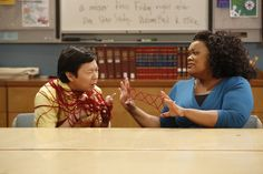 "Ken Jeong and Yvette Nicole Brown in Community from ""History 101"""