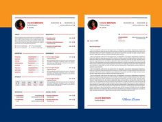Here is free modern infographic cv template with cover letter. Clean Resume Template designs are easy to use and customize, so you can quickly make your Resume Template Examples, Modern Resume Template, Resume Design Template, Microsoft Word Resume Template, Cv Words, Infographic Resume, Lettering, Cover, Free Resume