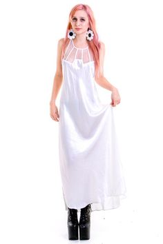 0e651971e28 Silky Smooth Slip Dress - XS - L Going Out Shirts