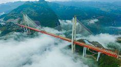Stavba nejvyššího mostu na světě se blíží ke konci– Novinky.cz