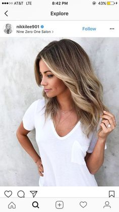 Are you looking for blonde balayage hair color For Fall and Summer? See our collection full of blonde balayage hair color For Fall and Summer and get inspired!