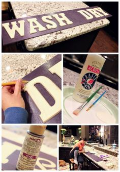 Painted Sign Tutorial Steps
