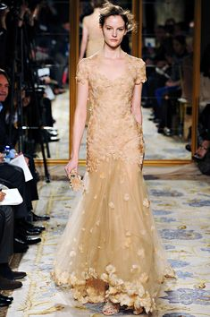 Marchesa, Fall 2012, RTW ... such a delicacy, especially how it blends right into her skin