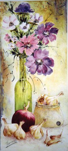 Peinture - medium Aquarelle - Gaétane Lessard