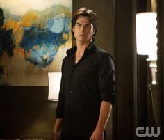 """The End of the Affair""--Ian Somerhalder as Damon Salvatore on THE VAMPIRE DIARIES on The CW. Photo: Bob Mahoney/The CW 2011 The CW Network. All Rights Reserved."