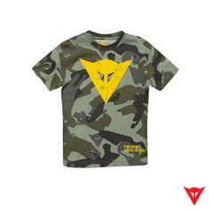 Dainese T-Shirt Camo Kid