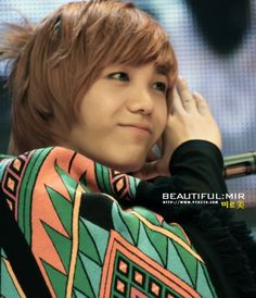 Favourite person in MBLAQ: Mir! The master of Engrish! He's cute ...