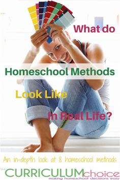 What do homeschool methods look like in real life? Come with us as we take a look at how the various methods play out in real homeschools, going beyond just a basic definition and supplying you with tons of resources for each homeschool method. #homeschoolcurriculum #thecurriculumchoice Real Life, Susan Wise Bauer, Classical Education, Teacher Notes, School Subjects, Rock Collection, Online Programs, Hands On Activities, Homeschool Curriculum
