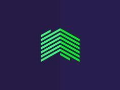 BP homes, monogram logo design symbol