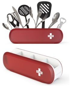 I WANT THIS swiss… kitchen storage :)  yes… from by Art Lebedev Studio