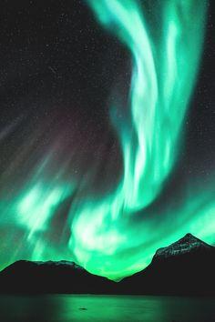 motivationsforlife:  Northern Lights by John A Hemmingsen // Edited by MFL
