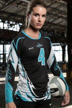 Custom Sublimated Volleyball Jerseys designed for Women- Rox Volleyball. Voleibol  UniformesTochitoTenisCamisetasUniformes De ... bc92d552b3e66