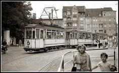 Franckeplatz, Halle (Saale), 1.8.1966. Foto: Evert Heusinkveld