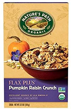 Cereal For Diabetics, Organic Cereal, Crunch Cereal, Crunchy Granola, Cereal Recipes, Organic Recipes, Raisin, Products