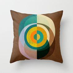 Textures/Abstract 76 Throw Pillow by ViviGonzalezArt - $20.00