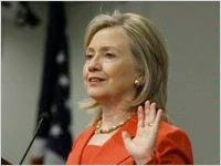 US Secretary of State Hillary Rodham Clinton advocates for the health and safety of women and girls around the world.