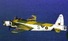 """"""" Wellington Mk X of RAF Coastal Command in flight (Date and location unknown) """""""