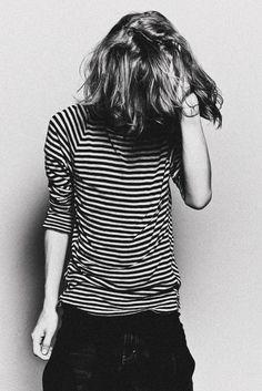 striped t shirt fashion women tumblr fashion