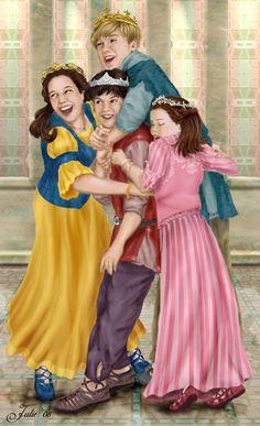 Narnia Royal Family by tallterror